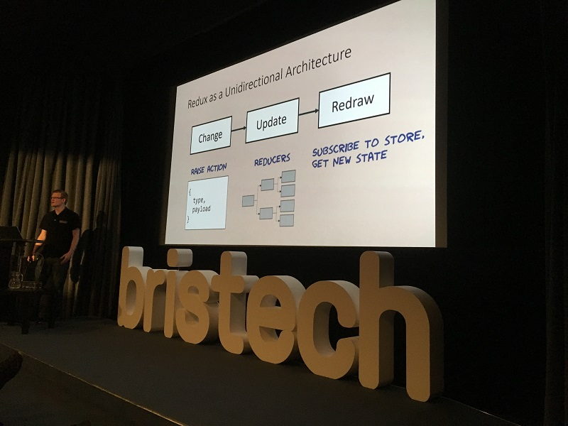 Sam Hogarth, Speaking at Bristech
